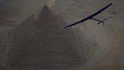 Solar impulse 2 a quitté l'Égypte pour Abou Dhabi, dernière étape de sa tournée mondiale