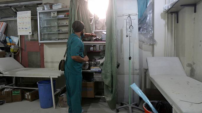 Syria: hospitals targeted in besieged eastern Aleppo