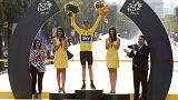 103. Fransa Bisiklet Turu şampiyonu Chris Froome