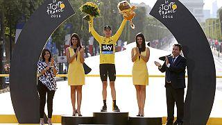 Chris Froome gagne son troisième Tour de France
