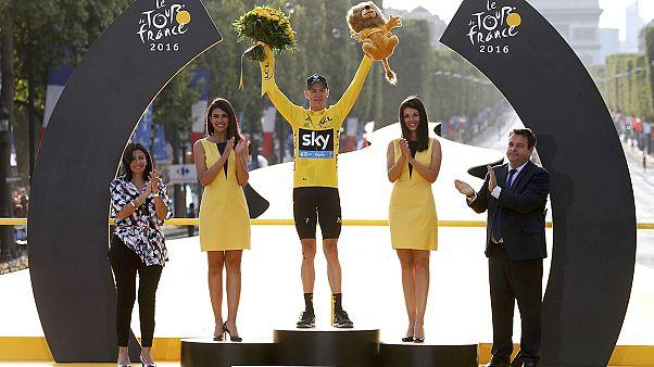 Tour de France: Chris Froome zum dritten Mal Gesamtsieger