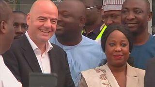 Nigeria : Gianni Infantino rencontre le président de la Fédération de football