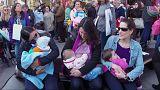 Argentína: mindenkinek joga van nyilvánosan szoptatni