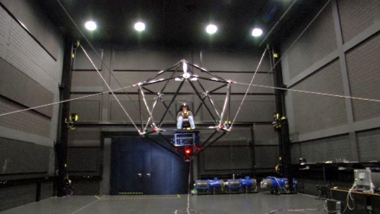 Für die Forschung: Höhenflug im Bewegungssimulator