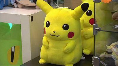 Nintendo Pokemon share frenzy wilts