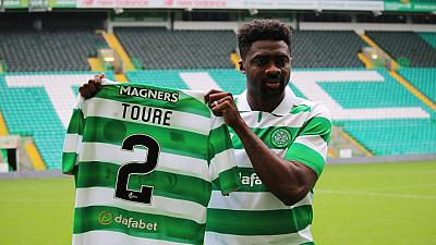 [Photos] Ivorian Kolo Toure signs for Scottish side, Celtic