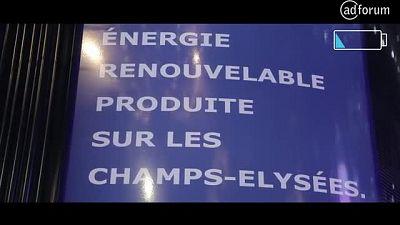 #Ensemble pour illuminer les Champs Elysées (IKEA)