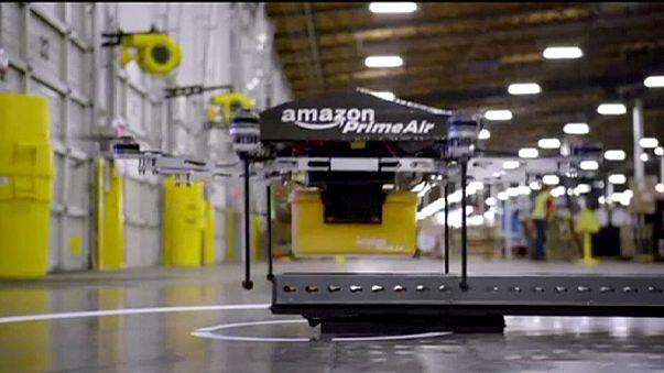 Regno Unito: al via i test di Amazon per le consegne con i droni