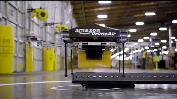 Amazon договорился с британскими властями об использовании дронов-курьеров