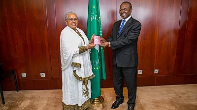 It is the turn of the women as Kenya's First Lady receives first AU passport