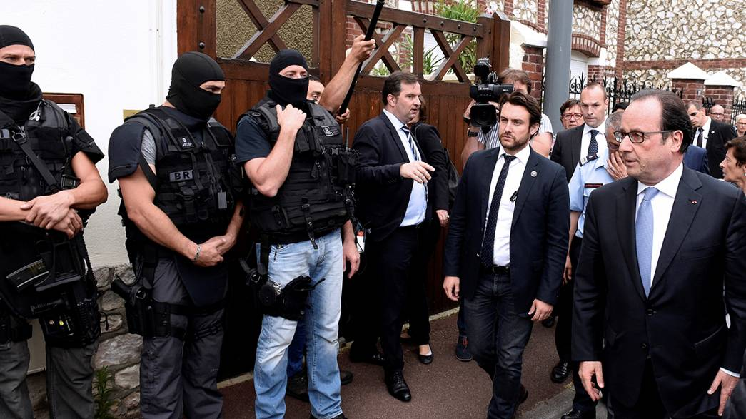 Fransa'daki kilise saldırısını IŞİD üstlendi