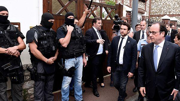 El EI reivindica la muerte del cura y el secuestro en la iglesia francesa