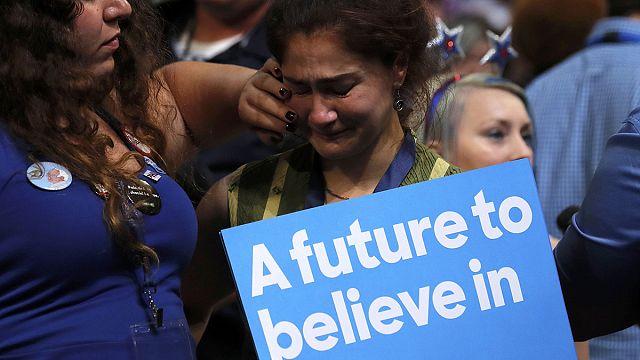 A demokrata szavazók jelentős része elutasítja Clinton jelöltségét