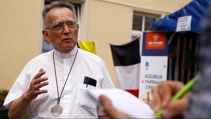 Vatican condemns 'barbarous killing' of priest in French church