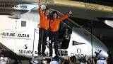Solar plane completes fuel-free round the world flight