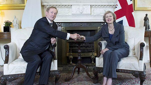 """Brexit: May """"frontiere aperte sull'isola di Irlanda"""""""