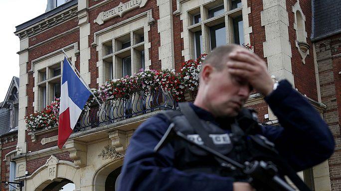 Terrortámadás ért egy francia templomot