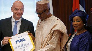 Le président de la Fifa pour plus d'équipes africaines au Mondial