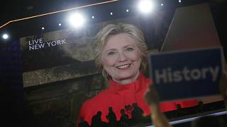 History is made as Hillary Clinton secures presidential nomination