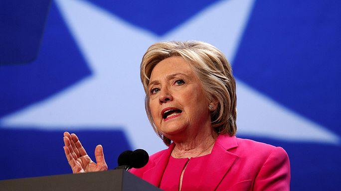 ABD'de kadınların adayı Clinton