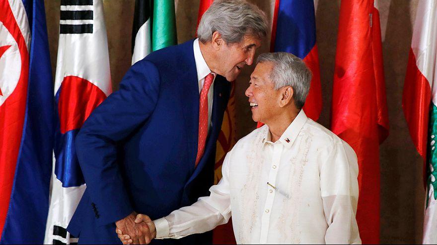 جون كيري: نريد تجنب المواجهة في بحر الصين الجنوبي