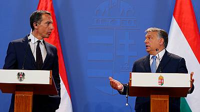 Autriche-Hongrie : désaccord sur les idées de Donald Trump