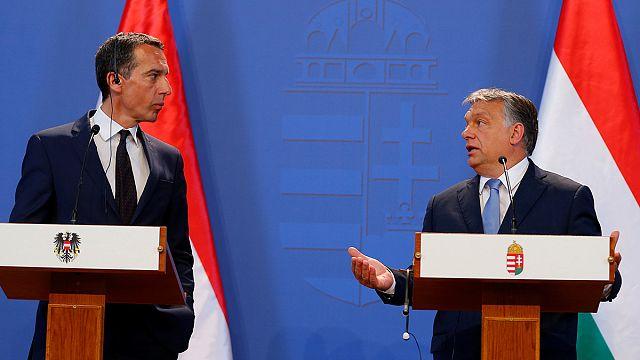 ترامب محور خلاف بين النمسا والمجر