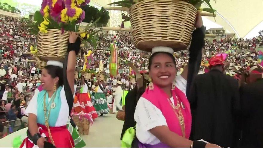 مراسم جشن گئلاگئتسا در مکزیک