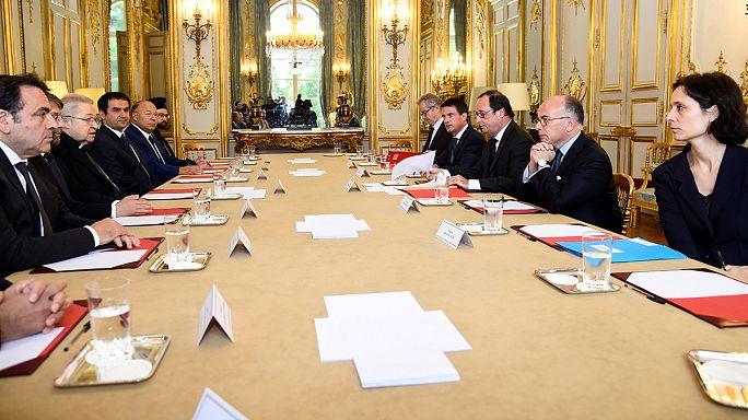 Religiões de França unidas contra o terrorismo