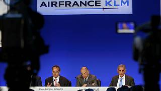 Air France-KLM warns on falling travel demand from terrorism and Brexit