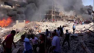 Мощный взрыв в курдском районе на севере Сирии