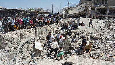 Truck bomb blast kills dozens in Syria