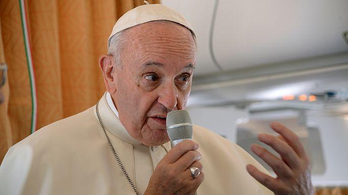Ferenc pápa: A világ háborúban áll