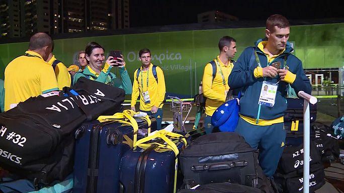 Olimpia - Megkezdték a beköltözést az ausztrálok