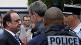 Ante el terrorismo, los líderes políticos y religiosos llaman a la cohesión nacional en Francia