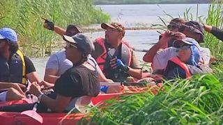 Bird-watching along the Nile with kayaks