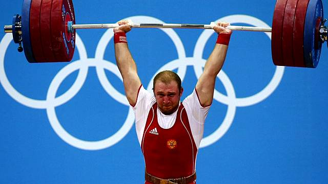 Eleven weightlifters, including six medalists, retest positive from London 2012