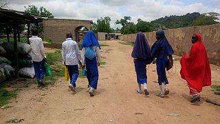 [Photos] Nigeria: Chibok schools reopen under tight security