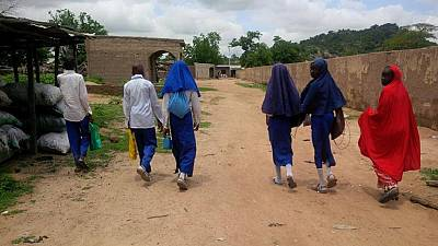[Photos] Nigeria: Chibok schools reopen under tight security
