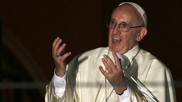وصول البابا فرنسيس إلى كراكوفيا