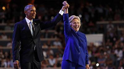 Obama gives Clinton ringing endorsement at US Democratic Convention