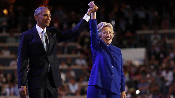 Convenção: Obama elogia Clinton e emociona democratas