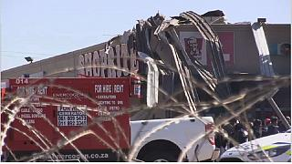 South Africa: Tornado hits Johannesburg commercial centre