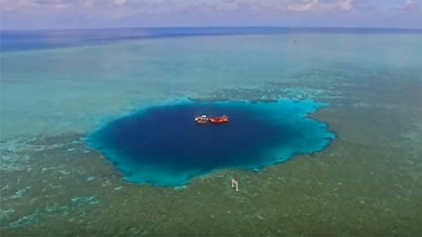 A világ legmélyebb víznyelője