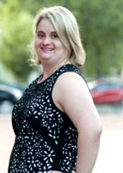It made sense for the National Down Syndrome Society to ask Kayla McKeon to work as a lobbyist with the organization because she excels as an advocate.