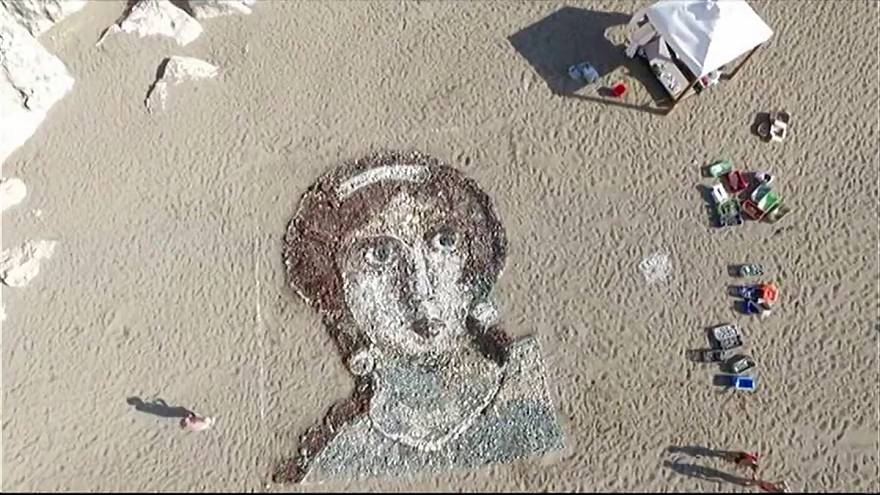 Labour of love: Aphrodite beach mural unveiled