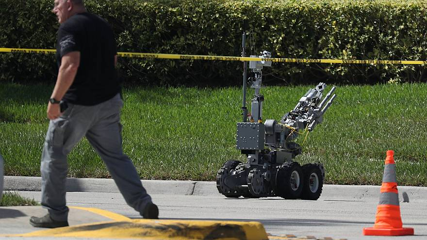 Image: Suspicious Package Found At FL Office Of Democratic Rep. Debbie Wass