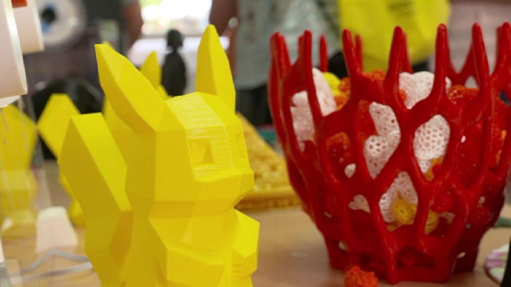 مشروع للتعريف بالطابعات ثلاثية الابعاد للاطفال المجريين