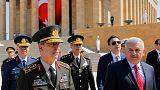 تركيا: بدء إجتماع المجلس الاعلى للقوات المسلحة واستقالة اثنين من كبار القادة العسكريين