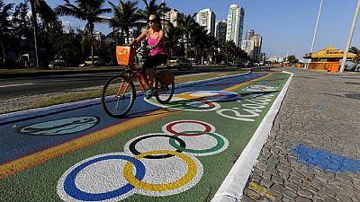Rio 2016 : le président du CIO au Boulevard olympique